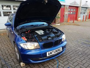 BMW 120d Remap and Hydrogen clean by AMTuning.uk