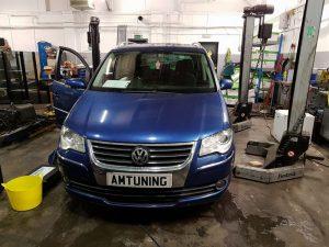 Touran TDI Ecu flashed by AMTuning.uk Portsmouth
