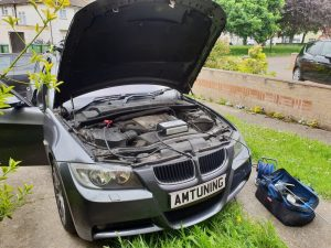 BMW 318d Remap by AMTuning.uk Portmouth