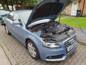 Audi A5 2.0TDI Hydro Clean by AMTuning.uk Gosport