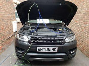 Range Rover Sport Hydro Clean Southampton
