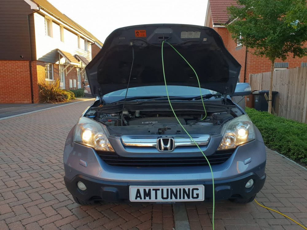 You are currently viewing This Honda CR-V 2.2CDTI Remapping in Andover