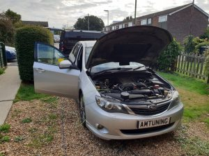 Read more about the article Impreza WRX Hydrogen Engine Cleaning