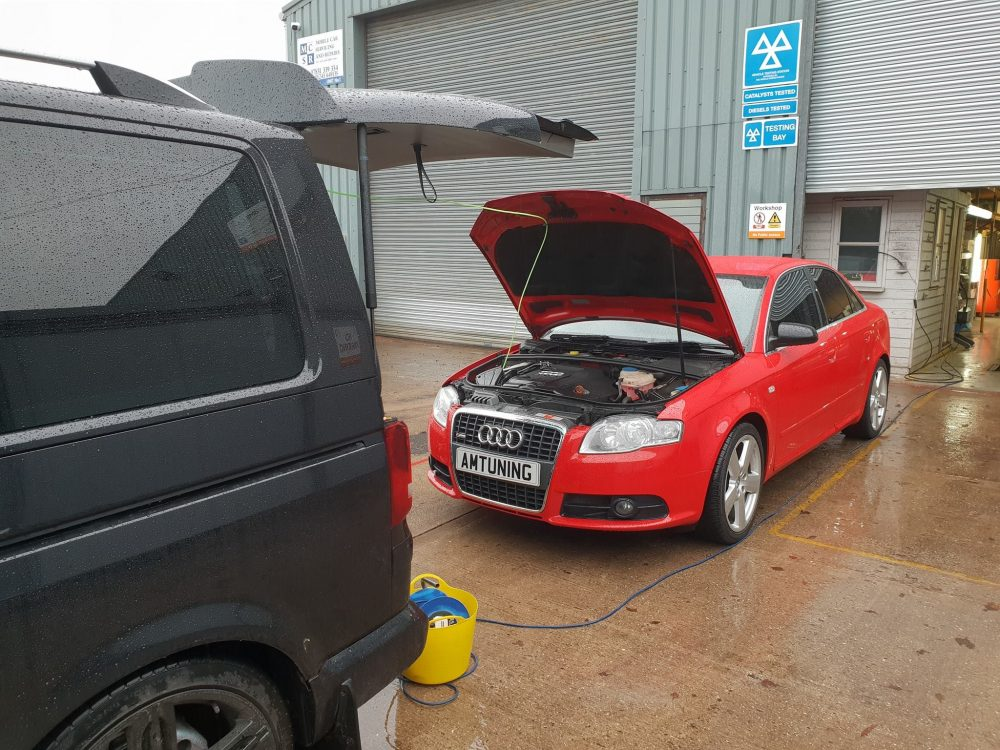 You are currently viewing Audi A4 S Line Hydrogen Engine Cleaning
