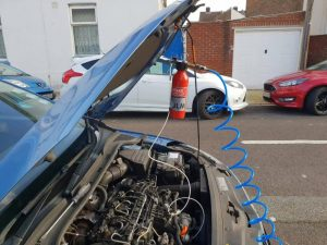 Read more about the article Diesel Engine extreme Intake clean in Portsmouth