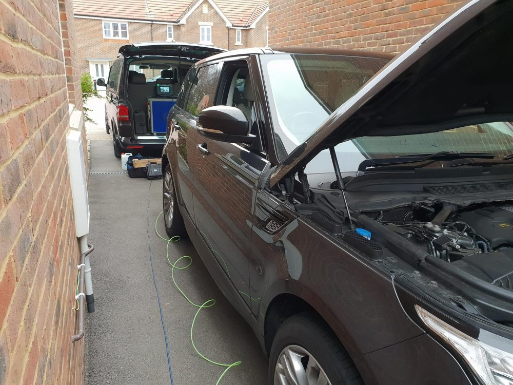You are currently viewing Range Rover Remapped by AMTuning in Fareham