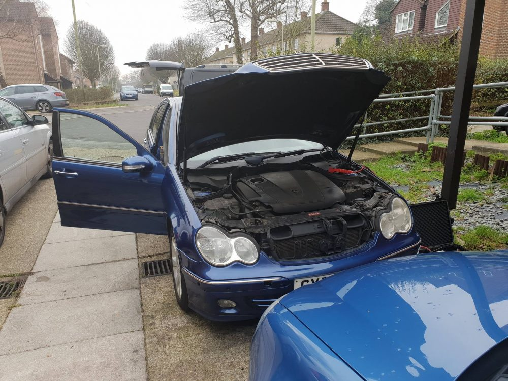 You are currently viewing Mercedes C220 CDI Remap