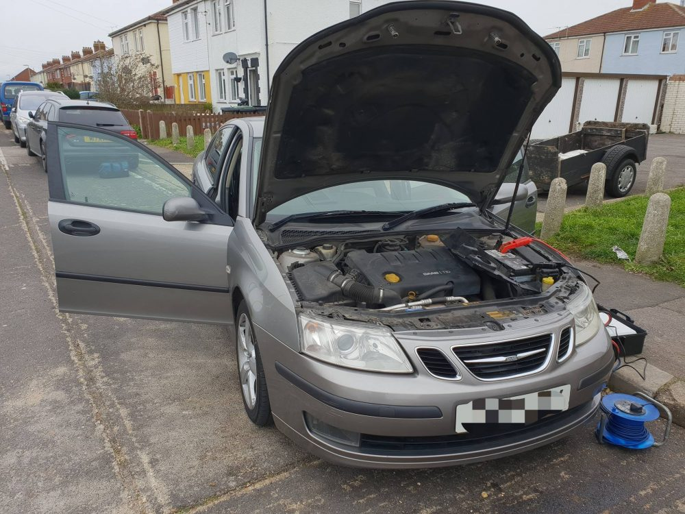 You are currently viewing SAAB 93 1.9CDTI 150 Remap Portsmouth