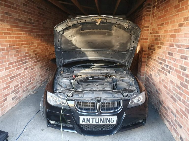 Read more about the article Remapped  E91 BMW 320d with Hydrogen Clean