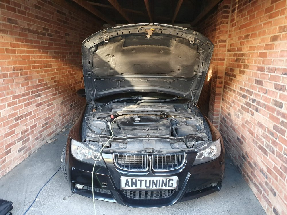 You are currently viewing Remapped  E91 BMW 320d with Hydrogen Clean