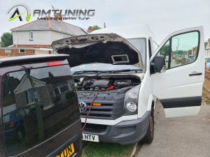 VW Crafter remapped by AMTuning